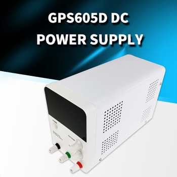 Power Supply GPS605D Adjustable DC Laboratory 60V 5A Blu-ray High Power Cell Phone Notebook Repair 4-digit Display 600w dc dc booster module solar notebook power supply 10 60v 12 80v high power