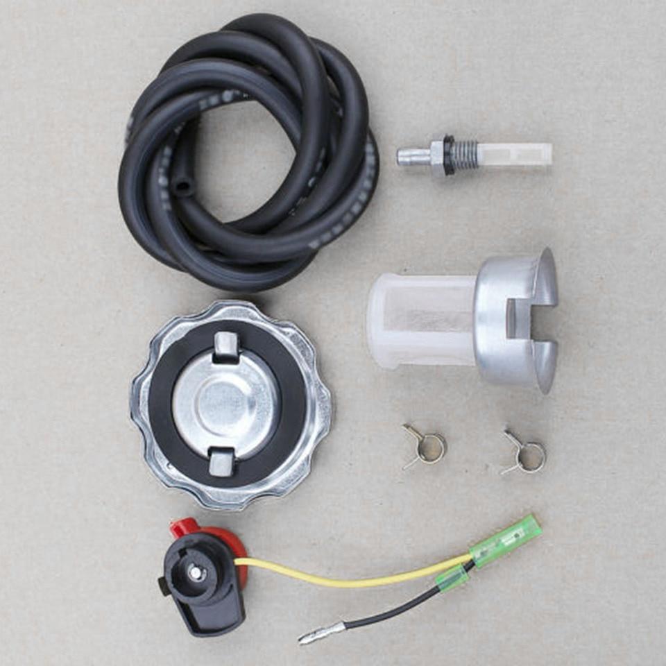 Fuel Gas Tank Cap Kit For Honda GX160 GX200 GX270 GX340 Engine Off Switch Hot