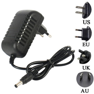Russia Thailand 3V 5V 6V 7V 10V 9V 12V 1A 1.5A 2A AU US UK EU DC Power Adapter 5.5*2.5 Monitor Regulation Charger Adaptor Supply