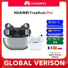 20$ -12 off CODE: MALLBR12 for New user Em estoque versão global huawei freebuds pro smartearphone qi função de anc carga sem fio para companheiro 40 pro p30 pro