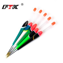 FTK 5Pcs/Lot Barguzinsky Fir 3g4g5g6g7g Weight Fishing Float Length 18cm-20.5cm For Carp