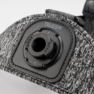 Image 4 - TELESIN حزام صدر للرأس ، حامل مزدوج ، مقاوم للانزلاق ، مرن ، تعديل قوي لـ GoPro 9 8 Osmo ، ملحقات Insta360