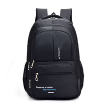 2019 New Quality Oxford Cloth Waterproof Laptop Bag Men Leisure Travel Backpack Sport Bag School Bag Multi-layer Pocket цена