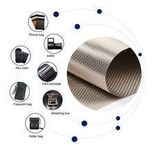 RF Reduzieren Anti Strahlung Abschirmung Faraday Stoff EMF Signal Blocking Weiche 1 Meter EMI Schutz RFID Isolation Käfig Gehäuse
