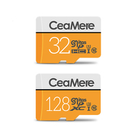 CeaMere Micro TF Karte 256GB/128GB/64GB UHS-3 32GB/16GB/8GB Klasse 10 UHS-1 4GB Speicher Karte Flash Memory Micro Kostenloser Crad Reader