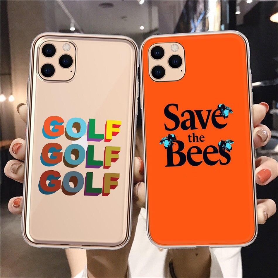Tyler the creator Golf IGOR bees Silicone Soft TPU Phone Case For iPhone 8 7 6 Plus X XS 11 12Pro Mini MAX 2020SE XR Funda Coque