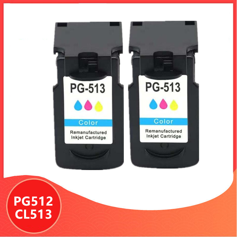 512XL PG512 CL513 Catridge Compatible for Canon pg 512 cl 513 ink cartridge Pixma mp230 mp250 MP240 MP270 MP480 IP2700 printer image
