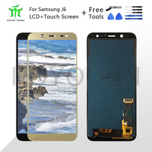 For Samsung Galaxy J6+ 2018 J610 SM-J610F J610FN display lcd Screen replacement for Samsung J6 plus SM-J610F lcd display screen new arrival women wallets high quality female long purse lattice women s coin wallet lady clutch cell phone pocket big promotion