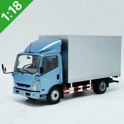 Escala 1/18 simulación de transporte de aleación que cubre C300 van camión de fundición a presión modelo de camión adultos niños exhibición de colección de regalo