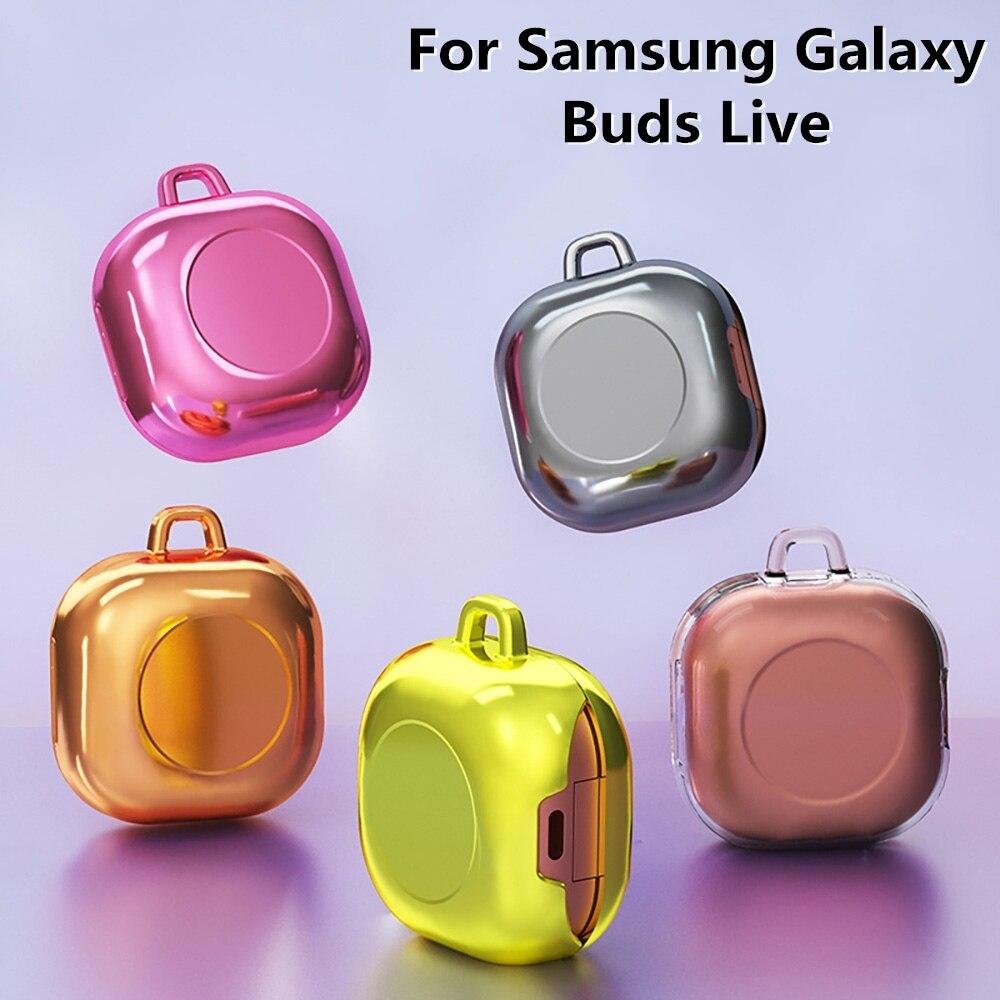 For Samsung Galaxy Buds Live Case Transparent Candy Plain Color ...