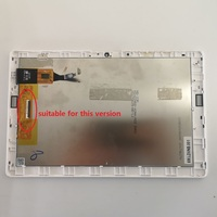 صغيرة خدش شاشة الكريستال السائل شاشات مراقبة تعمل باللمس الزجاج الاستشعار الجمعية مع الإطار لشركة أيسر iconia واحد 10 B3-A40-K7JP A7001 B3-A40