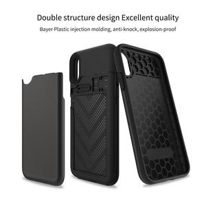 Image 5 - WOWCASE 지갑 아이폰 12 프로 맥스 케이스 비즈니스 하이브리드 슬라이드 갑옷 전화 커버 아이폰 11 X Xs Xr 카드 홀더 Coque Funda