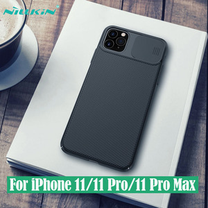 Image 1 - For iPhone 11 11 Pro Max Case NILLKIN CamShield Case Slide Camera Cover Protect Privacy Classic Back Cover For iPhone11 Pro