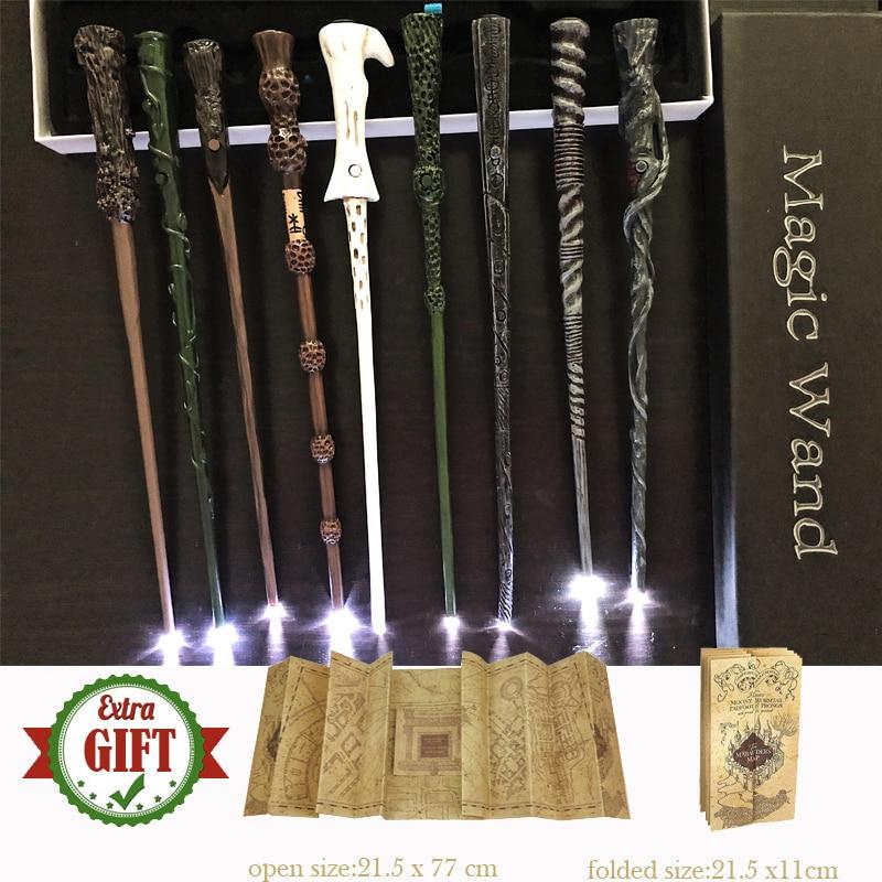 Magic Wands Gift-Box Hermione Harris Sirius Dumbleindsdore-Light with Packing-1/Harried/Marauder's/..