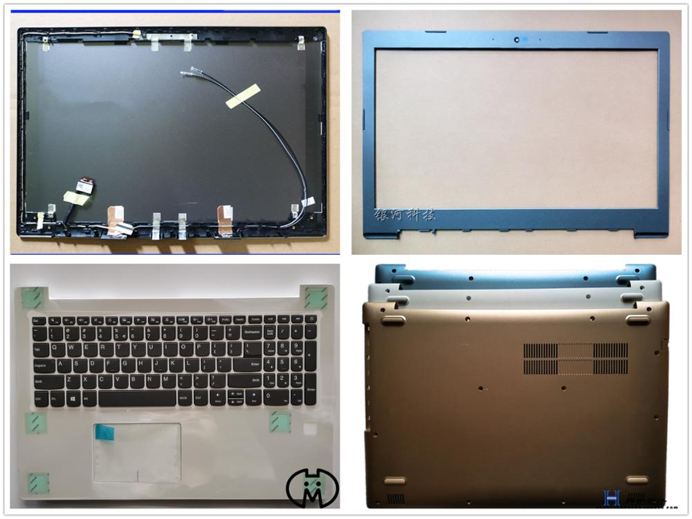 New Case For Lenovo Ideapad 520-15 520-15IKB 520-15ISK LCD Top Back/Front Frame/Palmrest Upper/Keyboard/Bottom Lower Cover Base
