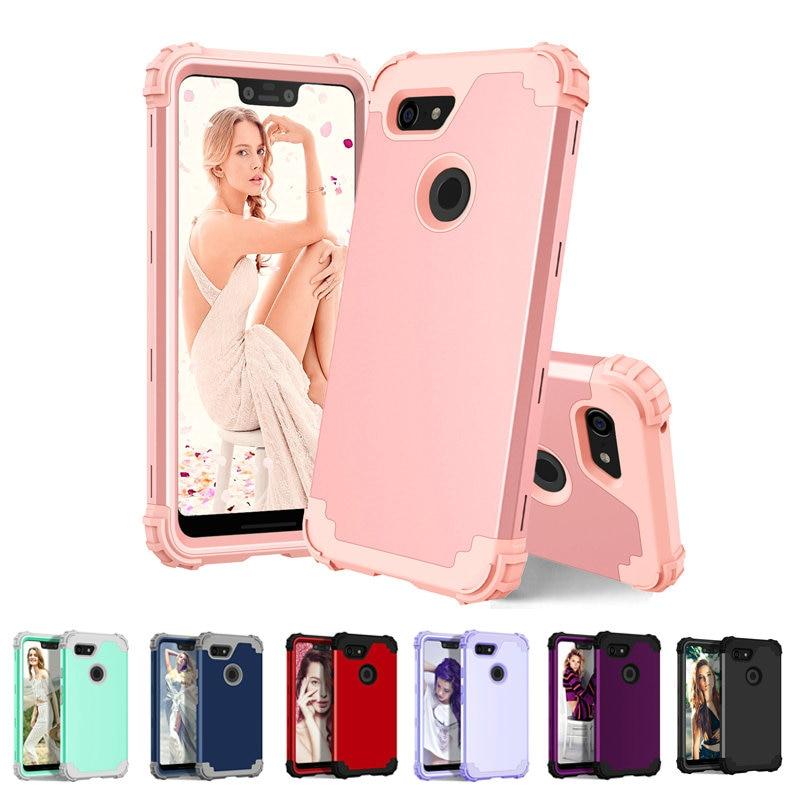 3IN1 Shockproof Case For Google Pixel 3XL Case Coque Google Pixel 4 XL Case Pixel 3A 3 XL Pixel3 XL3 4XL XL4 Pixel4 Back Cover