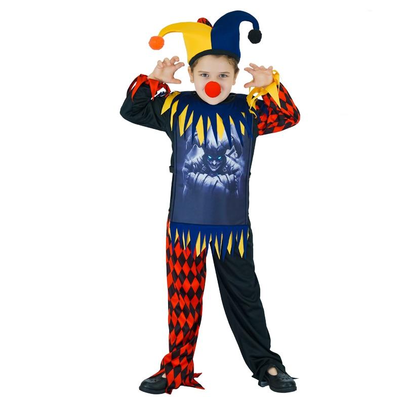 Clown Jester Hat Fancy Dress Up Party Costume Kids Adults Accessory