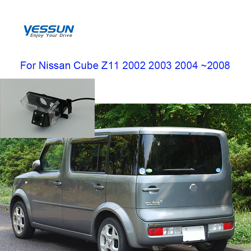 Yessun Car Rear View Camera HD Night Vision Reverse Camera DC 12V For Nissan Cube Z11 2002 2003 2004 ~2008