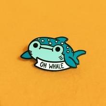 Oh Whale Женская Модная бижутерия, брошь-булавка