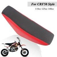 CRF XR 50 Pit Bike 125CC Seat 용 오토바이 높이 그리퍼 시트 하이 시트
