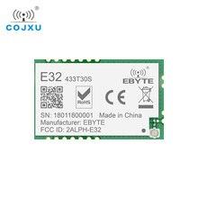 LoRa Módulo TCXO rf SX1278, 433 MHz, 1w, transceptor de largo alcance E32 433T30S ebyte, UART, SMD, 30dBm, 433 mhz, receptor transmisor IOT