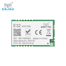 LoRa SX1278 433MHz rf TCXO Module 1w ebyte E32 433T30S Long Range Transceiver UART SMD 30dBm 433 mhz IOT Transmitter Receiver