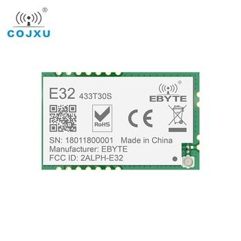 LoRa SX1278 433MHz rf TCXO Module 1w ebyte E32-433T30S Long Range Transceiver UART SMD 30dBm 433 mhz IOT Transmitter Receiver cc1310 module 433mhz 1w smd wireless transceiver e70 433nw30s iot 433 mhz ipex antenna transmitter and receiver