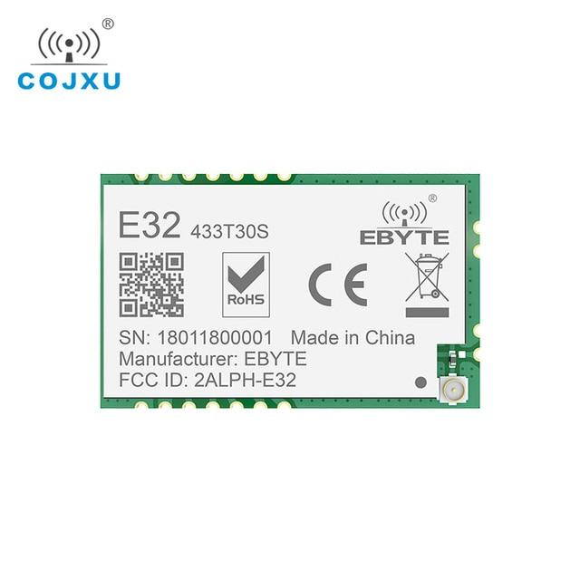 Lora SX1278 RF 433 Mhz Tcxo Module 1 W Ebyte E32 433T30S Tầm Xa Thu Phát UART SMD 30dBm 433 Mhz IOT thiết Bị Thu Phát