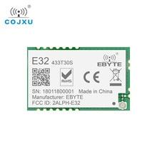 לורה SX1278 433MHz rf מודול 1w ebyte E32 433T30S ארוך טווח משדר UART SMD 30dBm 433 mhz IOT משדר מקלט