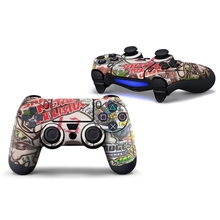 Vinyl Decorative Sticker Skin Cover Decal Wrap For Playstation 4 PS4 Controller LX9A