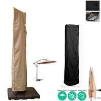 Outdoor Umbrella Cover Oxford Cloth Sunshade Umbrella Cover Garden Rainfall Cantilever Umbrella Cover Rainfall Bag Accessories