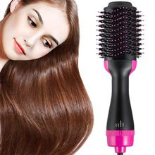2 in 1 Air Curling Brush Straighten & Curl One Step Hair Drying Tool