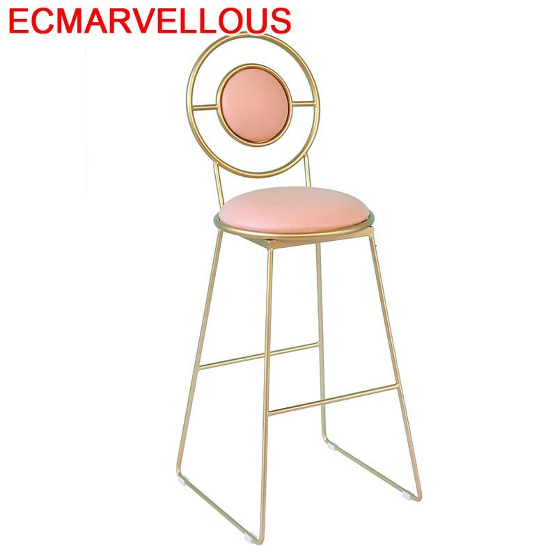 Fauteuil Bancos De Moderno Stoelen Sandalyesi Kruk Sedia Table Sgabello Sedie Leather Cadeira Silla Stool Modern Bar Chair