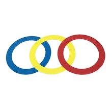 Жонглирование кольца акробатические Troupe ручной круг реквизит для колец Toss потерянное соединительное кольцо полировочное кольцо утерянная Скоба пластиковый бросок-и-с