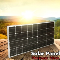 Xinpuguang solar panel glass 100w 12V Battery Charge 12v/24v 10A controller for RV/Car/Marine/Boat mono Solar 1000w System