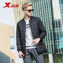 882429449206 Xtep men down jacket winter Cotton clothing new comfortable warm lightweight sports thick coat