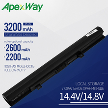 Buy Apexway 4 Cells PA5185U L50-B C55-B5200 PA5185U-1BRS Laptop Battery PA5186U-1BRS For Toshiba Satellite C50-B-14D L55-B5267 directly from merchant!