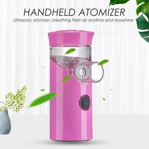 Image 1 - Health Handheld mini nebulizer medical atomizer asthma child silent inalador nebulizador Children Adult Automizer Dropshipping