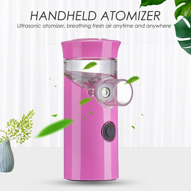 Health Handheld mini nebulizer medical atomizer asthma child silent inalador nebulizador Children Adult Automizer Dropshipping