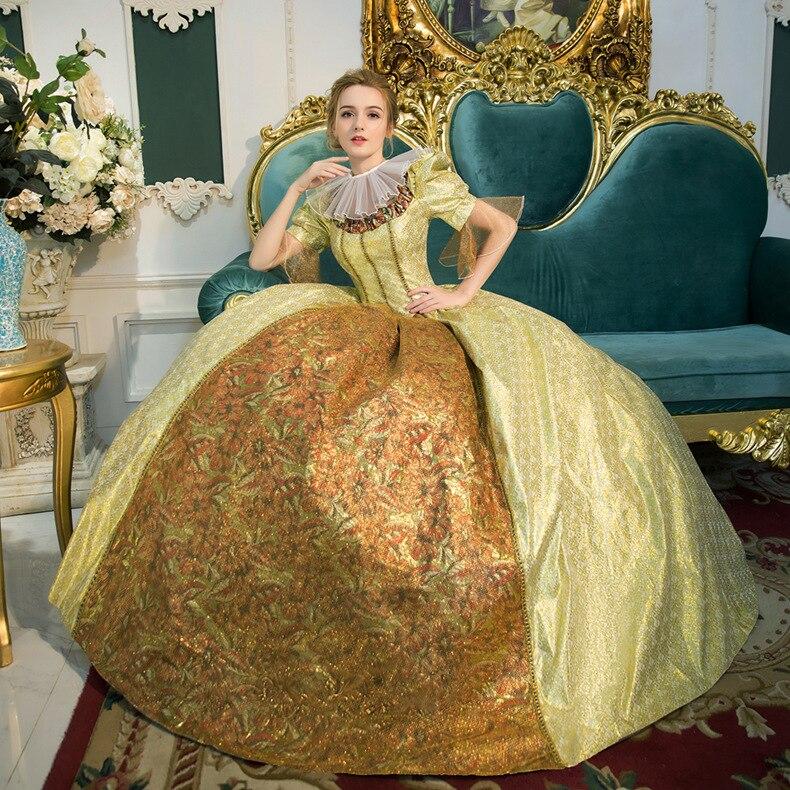 Royal Costume  Gothic Lolita Dress Victorian Dress Princess Sweet Lolita Costumes Drama Costumes Queen Dress