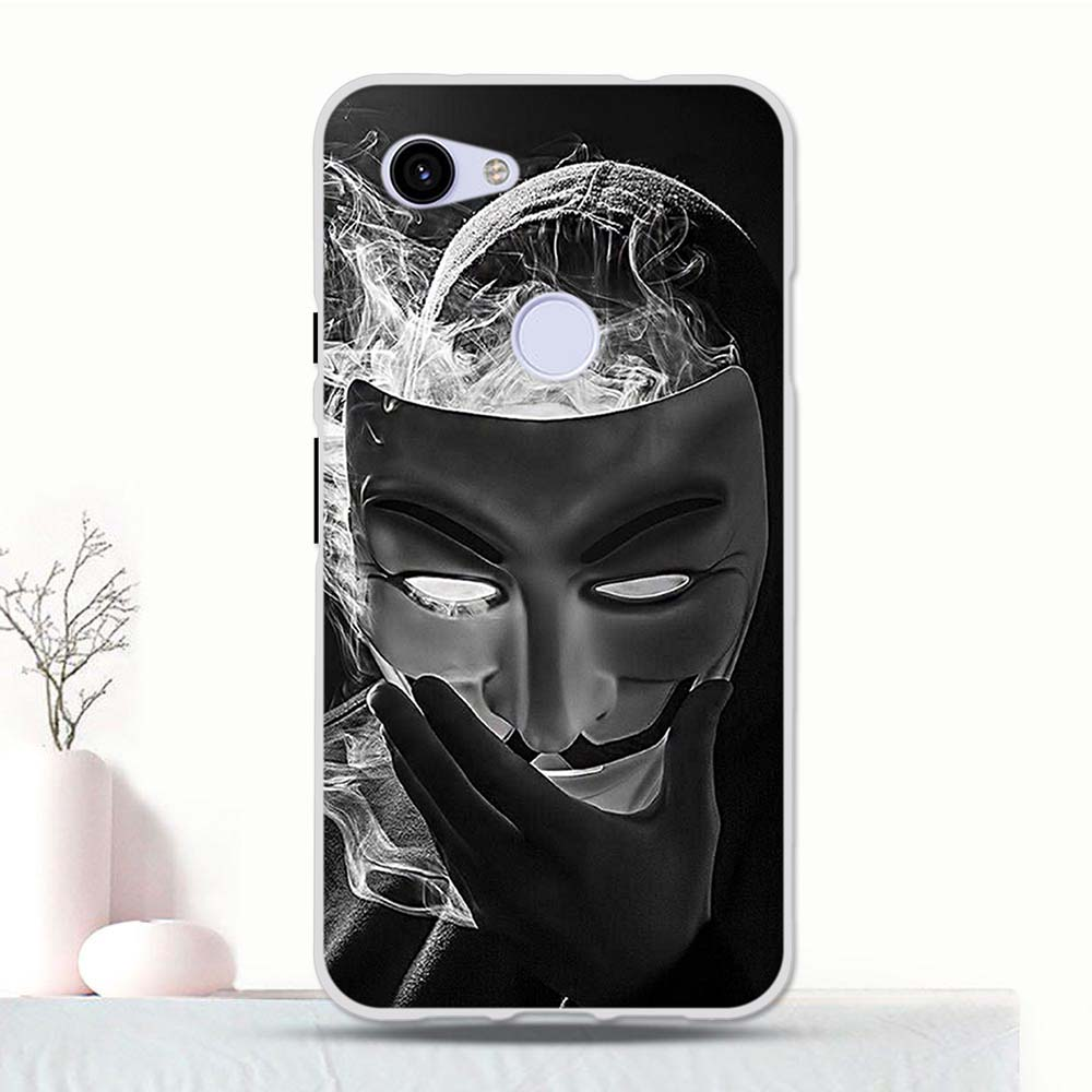 For Google Pixel 3A G020 Silicone Phone Case TPU For Google Pixel 3A Cartoon For Google Pixel 3A Coque Case Bag 5.6