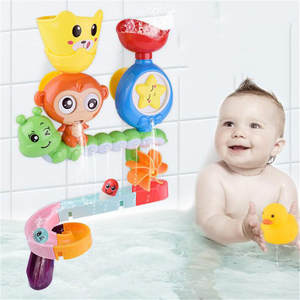 Toys Bath-Toy Sprinkle-Toys Shower Animal Baby Swimming Starfish Educational Monkey Cartoon