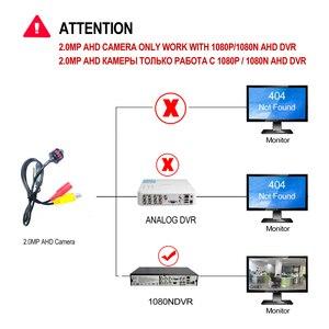 Image 5 - AHD 1080P מיני מצלמה HD Bullet מצלמה מתכת דיור BNC יציאת עבור CCTV AHD DVR מערכת