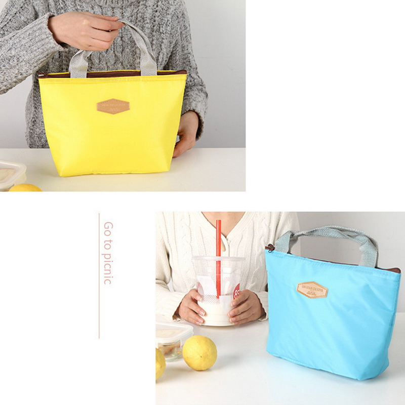 Multifunction Lunch Bag Kitchen Food Bento Container Insulated Lunch Bag Portable Lunch Box For Children Picnic Camping