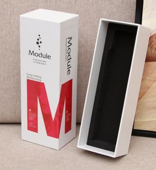 Caja de regalo de cinta plegable blanca fácil de transportar para el embalaje del vestido --- DH11443