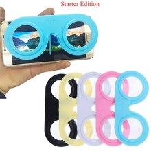 Mini Folding Virtual Reality Glasses 3D VR Smartphone Portable IOS Android
