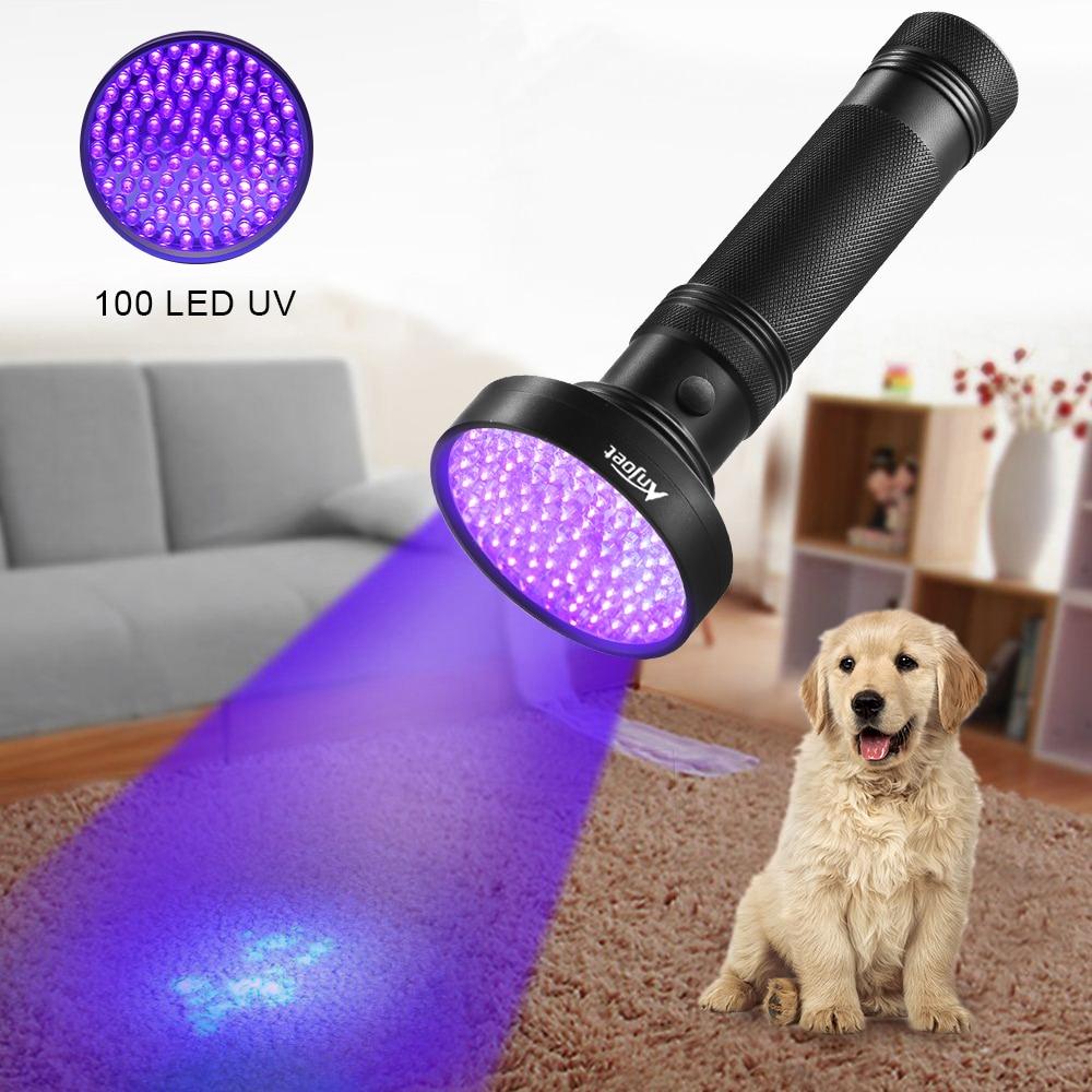 UV Flashlight Black Light,  21 51 100 LED 395 NM Ultraviolet Torch Blacklight Detector For Dry Pets Urine&Pet Stains&Bed Bug