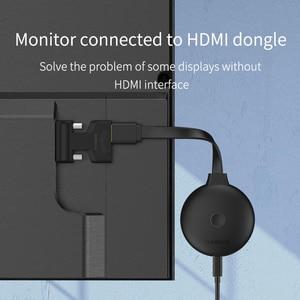 Адаптер hagirs HDMI в VGA с аудиопортом, Женский видеоконвертер, разъем 3,5 мм, 1080P для PS4, ноутбуков, ПК, ТВ-приставок, мониторов, проекторов