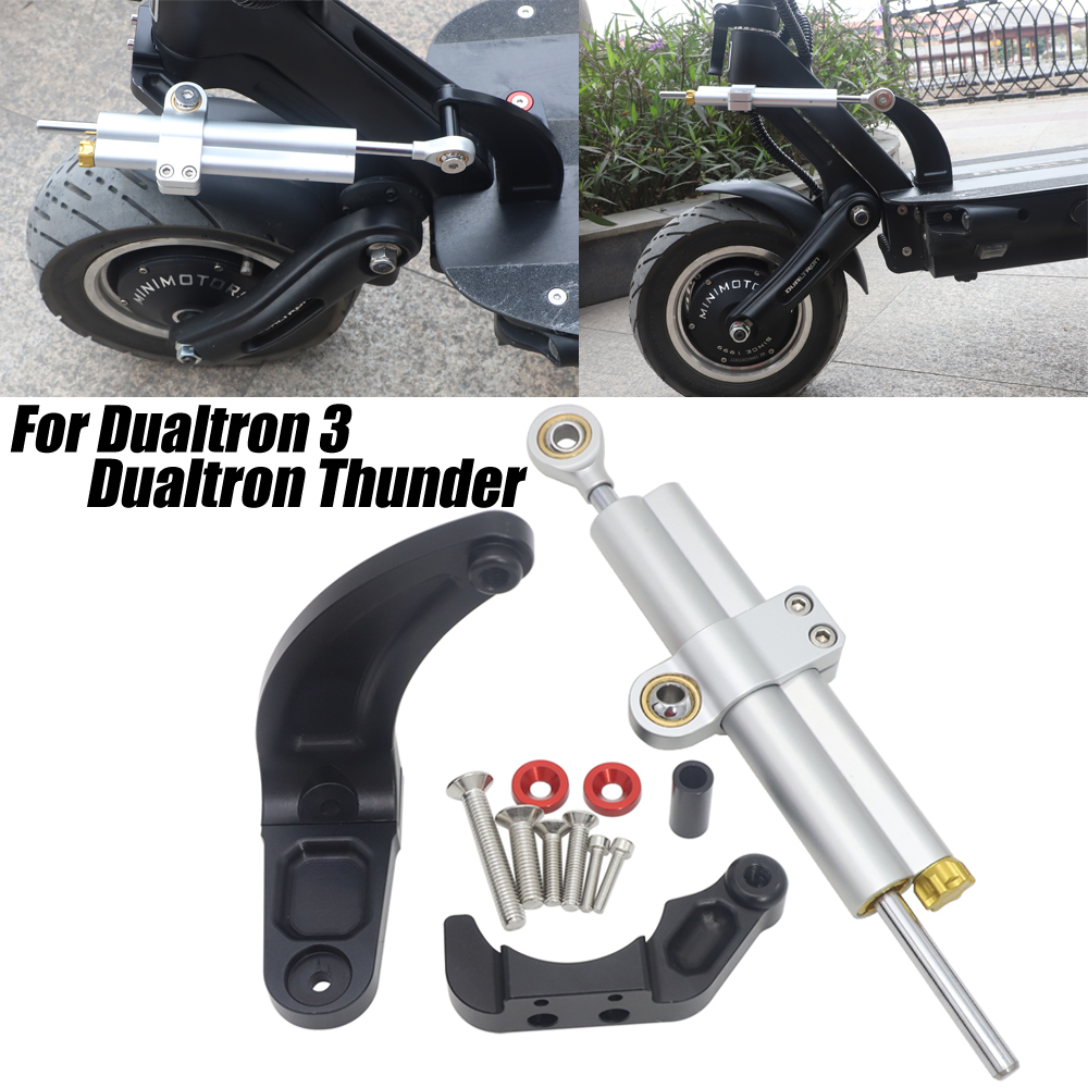 For Dualtron 3 Electric Scooter Steering Stabilize Damper Bracket Mount FOR Dualtron Thunder