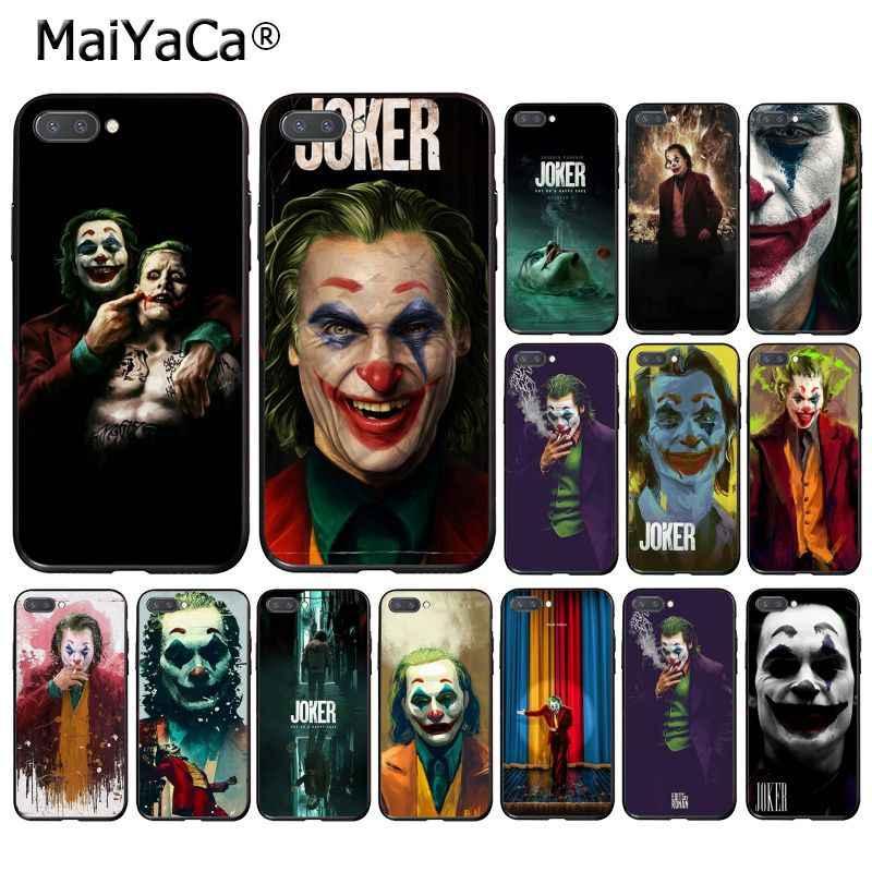 MaiYaCa Joker 2019 Joaquin Phoenix Téléphone étui pour huawei Honor 8X9 10 20 Lite 7A 8A 5A 7C 10i 20i View20